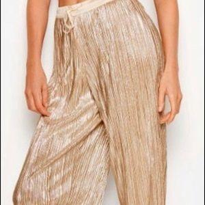 Victoria's Secret Metallic Pants & Camisole